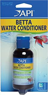 API Betta Fish Products: Water Conditioner to Make tap Water Safe for Fish, BETTAFIX Remedy to heal fins and Tail, Fish Food, and Ready-to-use Aquarium Water