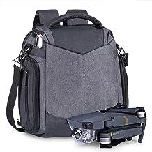ESTARER Drohne Tasche Rucksack Umhängetasche Handtasche 3 in 1 Tragetasche für DJI Mavic 2 Pro/Zoom, Mavic Air/Mini