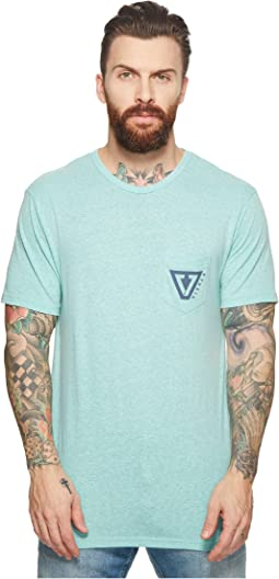 Established Tri-Blend Pocket T-Shirt Top