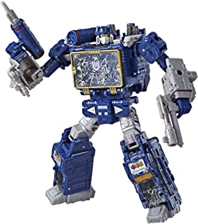 Transformers Toys Generations War for Cybertron Voyager Wfc-S25 Soundwave Action Figure - Siege Chapter - Adults & Kids Ages 8 & Up, 7