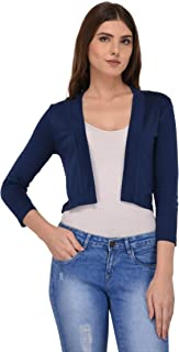 Espresso Women's Viscose Collared Neck Cardigan