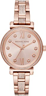Michael Kors Casual Watch For Women Analog Stainless Steel - MK3882