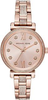Michael Kors MK3882 Michael Kors Women's Sofie for Mujer, Rosa,