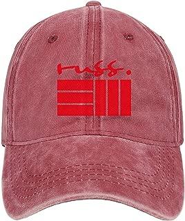 Unisex Adjustable Caps Russell-Vitale-Rapper-Russ-Logo- Baseball Caps Novelty Sun Hats Dad Hats