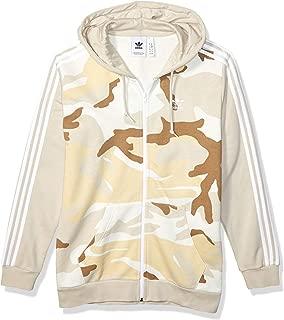 Men's Camo Full-Zip Hooded Sweatshirt