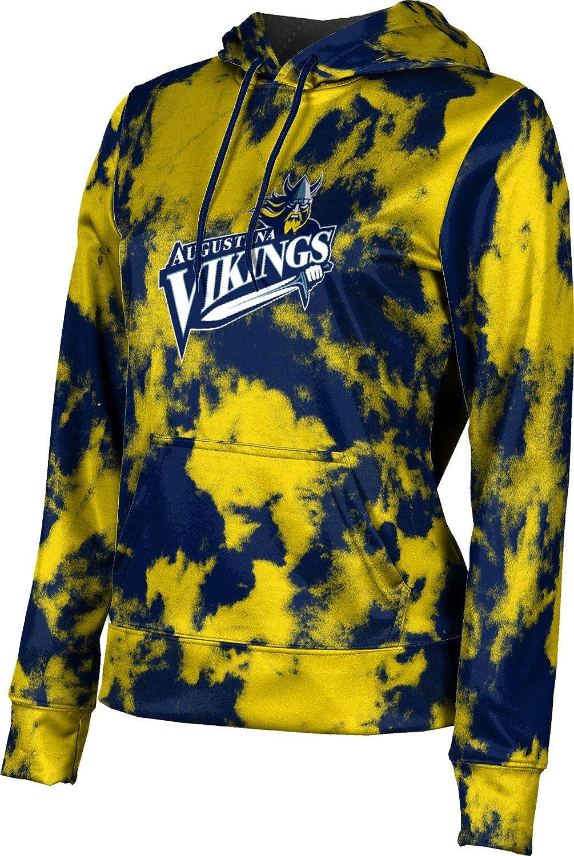 ProSphere Augustana University Girls' Pullover Hoodie, School Spirit Sweatshirt (Grunge)