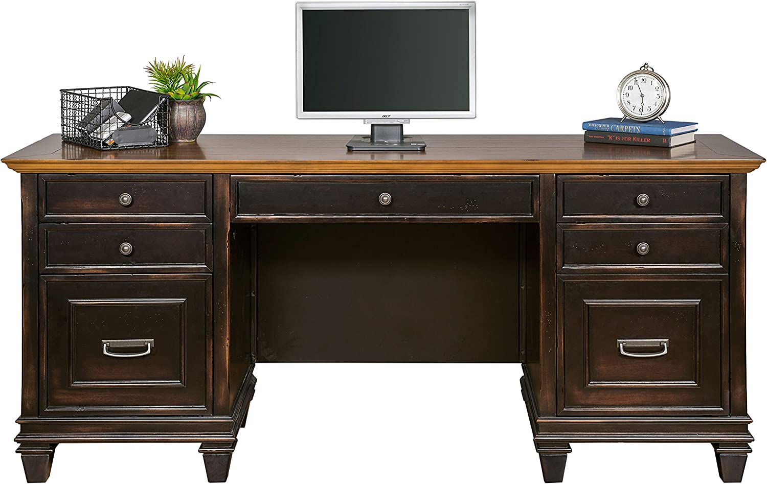 Martin Furniture Max 47% OFF Hartford Credenza All items free shipping Brown Assembled - Fully