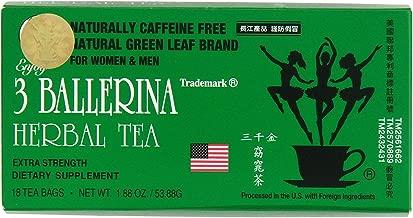 3 Ballerina Tea - Dieters Tea - 18 bags