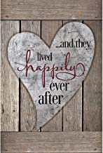Lela & Ollie Happily Ever After Wood Plaque with Inspiring Quotes 6