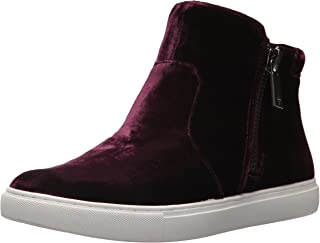 Kenneth Cole New York Womens KL05020VE Kiera Double Zip Mid-top Sneaker Velvet Purple Size: 6