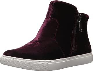 Kenneth Cole New York Women's Kiera Double Zip Mid-Top Velvet Sneaker