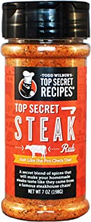 Todd Wilbur's Top Secret Steak Rub Seasoning - Just like the Pro Chefs use!
