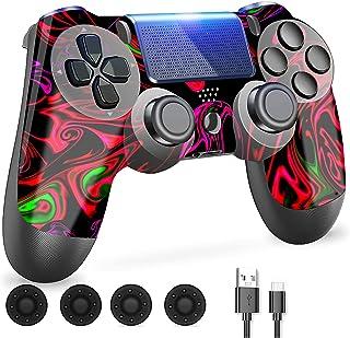 ZLMAY Controller PS-4, Joystick per Playstation 4, PS-4 Controller Wireless per Playstation 4/ PRO/Slim, Joystick PS-4 Dop...