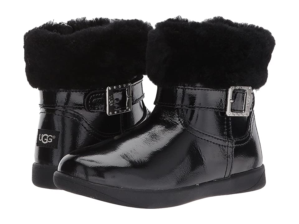 UGG Kids Gemma (Toddler/Little Kid) (Black) Girls Shoes