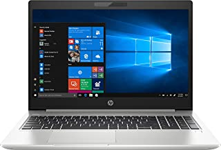 HP ProBook 450 G6 15.6 Inches LED Laptop (Silver) - Intel i7-8565U, 1.8 GHz, 1000 GB HDD, NVIDIA GeForce MX130, DOS