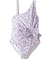 Kate Spade New York Kids - One Shoulder One-Piece (Big Kids)