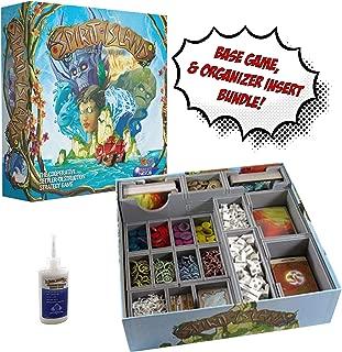 Spirit Island Board Game + Fitted Evacore Insert Organizer + Golden Groundhog Glue - Board Game Bundle!