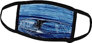 3dRose Sperm Whale fluke, Physeter macrocephalus, Azores Islands Portugal - Face Covers (fc_37781_1)