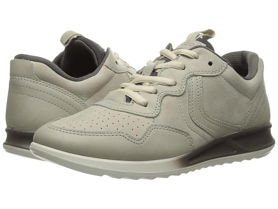 ECCO Genna Sneaker (Gravel/Gravel/Titanium) Women