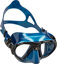 Cressi Nano Professional Scuba and Free Diving Mask - Blue Nery/Black, Adult Size