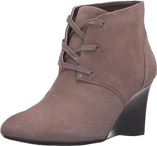 Lauren Ralph Lauren Women's Tamia-bo-cwd Boot, Porcini, 8.5 B US