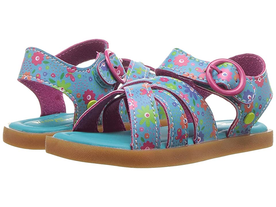 Western Chief Kids Picnic Sandal (Toddler/Little Kid) (Turquoise) Girls Shoes