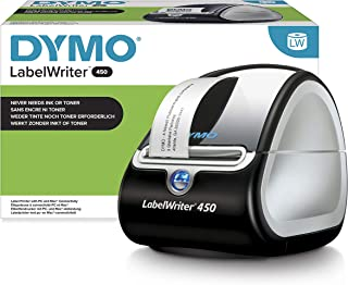 DYMO LabelWriter 450 Label Maker | Direct Thermal Label Printer | Fast Printing of Labels, Barcodes & More | Computer Conn...