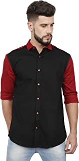 TAGOVER Classic Twill Double Shade Colour Shirt