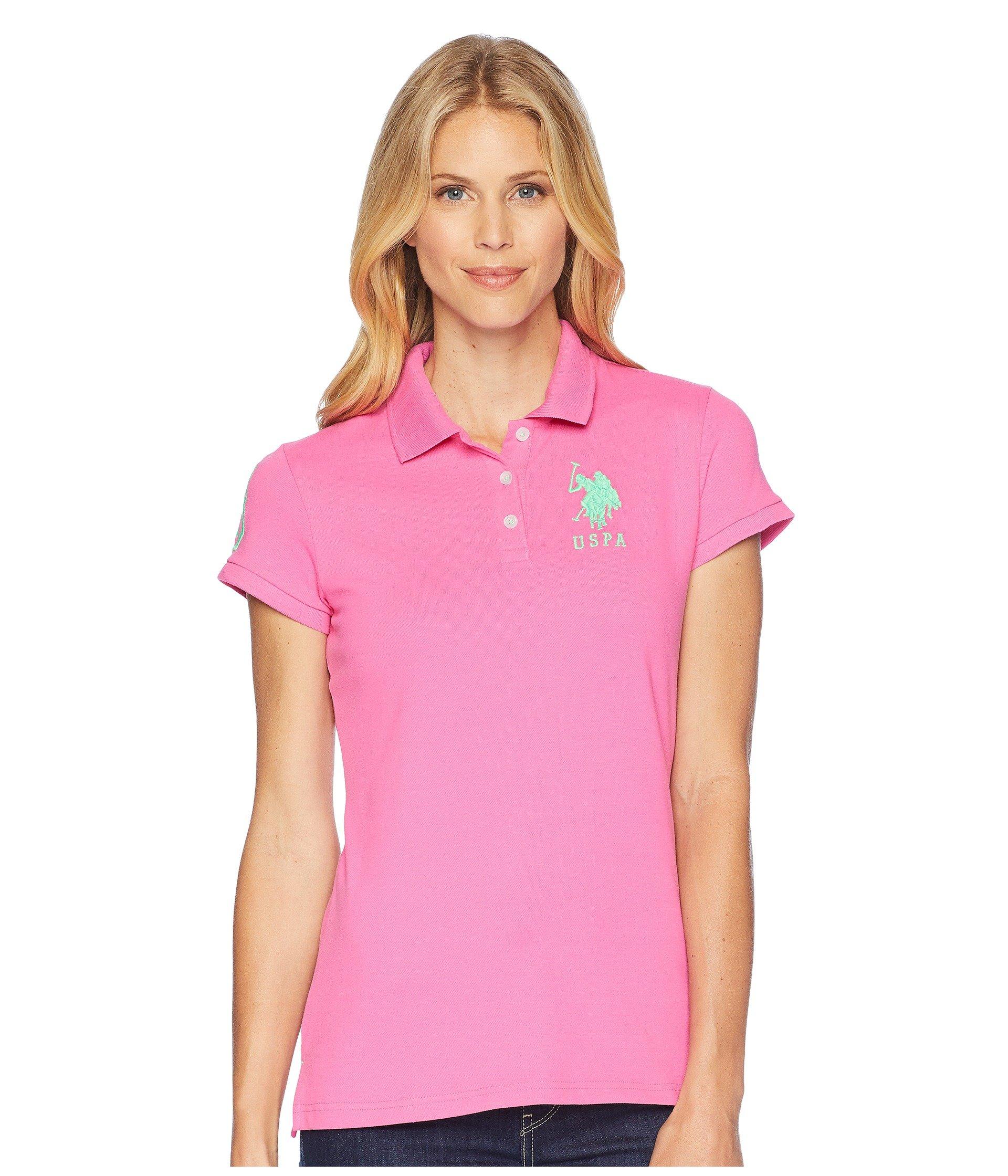 Camiseta Tipo Polo para Mujer U.S. POLO ASSN. USPA Solid Polo  + U.S. POLO ASSN. en VeoyCompro.net