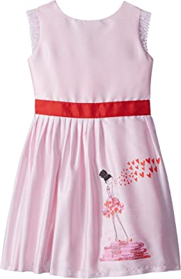fiveloaves twofish Kisses From Paris Party Dress (Toddler/Little Kids/Big Kids)
