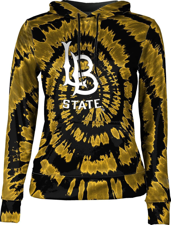 ProSphere California State University Long Beach Girls' Pullover Hoodie, School Spirit Sweatshirt (Tie Dye)