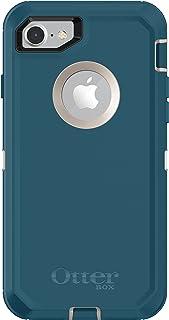 OtterBox DEFENDER SERIES Case for iPhone 8 & iPhone 7 (NOT Plus) - Retail Packaging - BIG SUR (PALE BEIGE/CORSAIR)