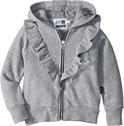 Ruffled Zip Hoodie (Toddler/Little Kids)