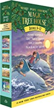 Magic Tree House Boxed Set, Books 9-12: Dolphins at Daybreak, Ghost Town at Sundown, Lions at Lunchtime, and Polar Bears Past Bedtime