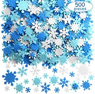 silver snowflake stickers