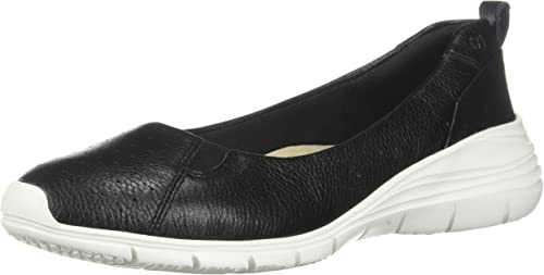 Hush Puppies femmes Cypress Slip-On noir Leather 6 W W (D)  le plus préférentiel