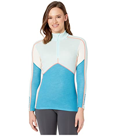 Helly Hansen Lifa Merino 1/2 Zip (Blue Wave) Women