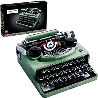 LEGO Ideas Typewriter 21327 Building Kit; Great Gift Idea for Writers (2,079 Pieces)