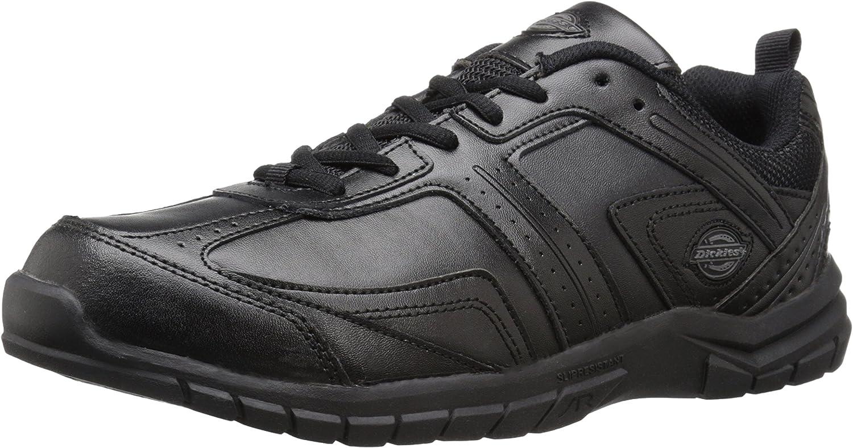 Dickies Men's Vanquish Health Care & Food Service shoes, Black, 8.5 M US