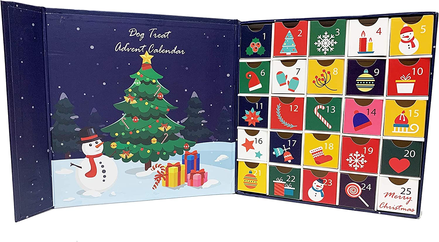 Midlee Christmas Advent Box Limited Special Price New item Treat