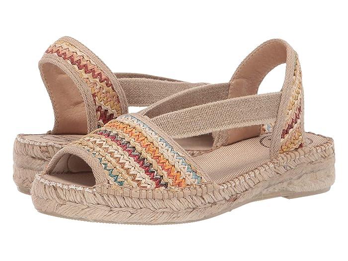 1930s Style Shoes – Art Deco Shoes Toni Pons Estel-Ma Multi Womens Shoes $179.99 AT vintagedancer.com