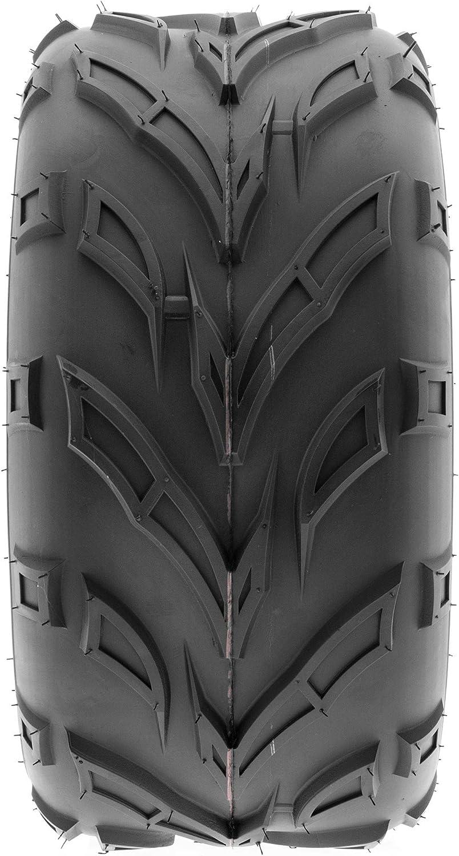 Set of 4 SunF A004 Go-Kart ATV Tires 16x6-8 Front /& 16x6-8 Rear 6 PR Tubeless all terrain