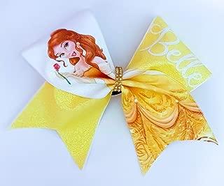 Disney Bow Princess Belle Cheer Hair Bow | Beauty & The Beast big bow