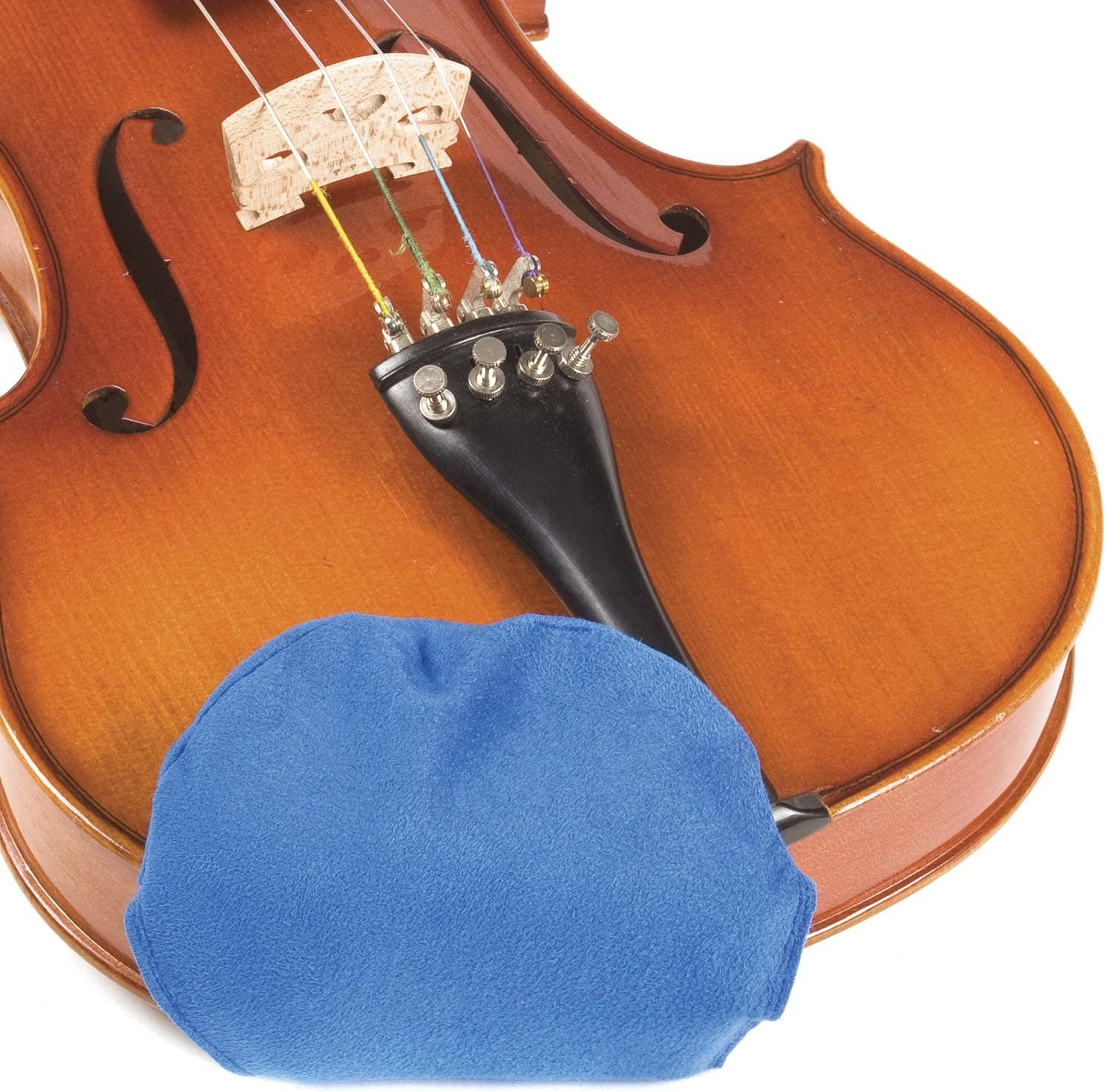 Chin Cozy Chinrest Cover: Medium for 1 Free Shipping New - quality assurance Blue Violin 4 2-4