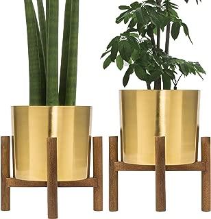 brass flower pot stand