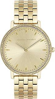 Rebecca Minkoff Women's Major Quartz Watch with Gold Tone Stainless Steel Strap, 16 (Model: 2200348)