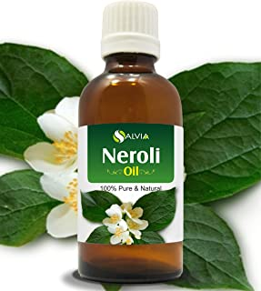 Neroli Oil (Citrus Aurantium) 15 ML with Dropper Therapeutic Essential Oil Amber Bottle 100% Natural Uncut Undiluted Pure ...