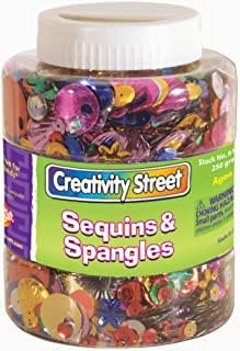 Chenille Kraft Sequins  and  Spangles Shaker Jar