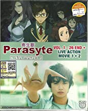 PARASYTE : THE MAXIM + LIVE ACTION - COMPLETE ANIME TV SERIES DVD BOX SET (26 EPISODES + LIVE ACTION MOVIE)