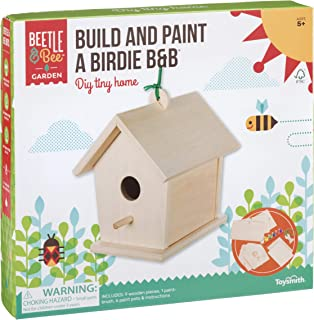Toysmith Beetle & Bee Build and Paint A Birdie